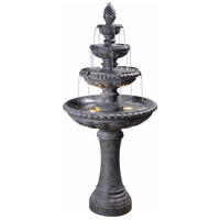 Kenroy Lighting 51030ZC Tucson Zinc Floor Fountain