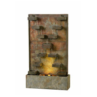 Kenroy Lighting 51033SL Voyage Slate Floor Fountain