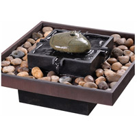 Kenroy Lighting 51041BRZ Zen Bronze Indoor Table Fountain