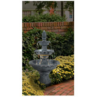 Kenroy Lighting 53200ZC Costa Brava Zinc Outdoor Floor Fountain Home Decor alternative photo thumbnail