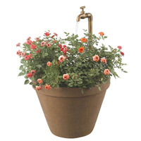 Kenroy Lighting Full Bloom 1 Light Outdoor Fountain in Terra Cotta   53220TC photo thumbnail