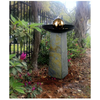 Kenroy Lighting 53226SL Sleek Natural Green Slate/Copper Indoor/Outdoor Floor Fountain alternative photo thumbnail