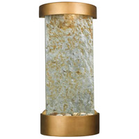 Kenroy Lighting Midstream 1 Light Table/Wall Fountain in Natural Slate with Copper  Accents  53238SL