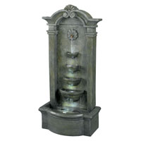 Kenroy Lighting Sienna 4 Light Floor Fountain in Mossy Stone   53245MS