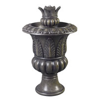 Kenroy Lighting 53260BP Tuscan Urn Bronze Patina Urn Fountain Home Decor