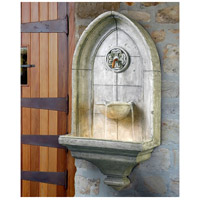 Kenroy Lighting 53265CT Canterbury Cement Indoor/Outdoor Wall Fountain alternative photo thumbnail
