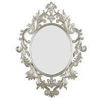 Kenroy Lighting Louis Wall Mirror in Silver Leaf   60010