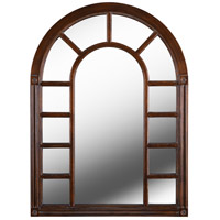 Cathedral 38 X 28 inch Bronze Wall Mirror Home Decor