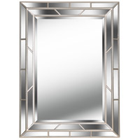 Kenroy Lighting Lens Wall Mirror in Silver   60015