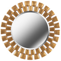 Kenroy Lighting 60019GLD Gilbert 36 X 1 inch Golden Wall Mirror in Golden Bronze