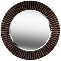 Kenroy Lighting 60021 North Beach 34 X 34 inch Bronze Wall Mirror