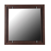 Kenroy Lighting Potrero Wall Mirror in Mahogany   60031