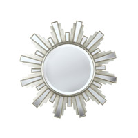 Kenroy Lighting 60041 Francisco 34 X 34 inch Antique Silver Mirror Home Decor photo thumbnail