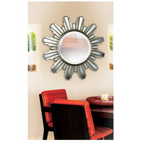 Kenroy Lighting 60041 Francisco 34 X 34 inch Antique Silver Mirror Home Decor alternative photo thumbnail