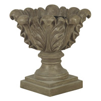 Kenroy Lighting Scroll Leaf Planter Planter in Tuscan Earth   60060