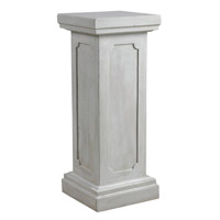 Kenroy Lighting Square Column Pedestal in Roman White   60068