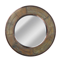 Kenroy Lighting 60087 Keene 32 X 32 inch Natural Slate Wall Mirror