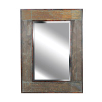 Kenroy Lighting White River Wall Mirror in Natural Slate   60089