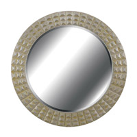 Kenroy Lighting Bezel Wall Mirror in Silver/Gold Gilt   60092