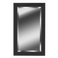 Black Ice 40 X 24 inch Black Ice Wall Mirror Home Decor