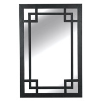 Kenroy Lighting Jacob Wall Mirror in Dark Rustic Bronze   60097