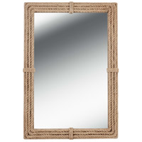 Kenroy Lighting 60206 Rudy 42 X 28 inch Natural Rope Wall Mirror