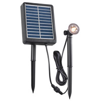Kenroy Lighting 60500 Signature 0.5 watt LED Spotlight, Solar photo thumbnail