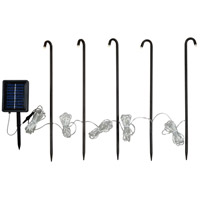 Kane 0.06 watt Matte Oil Rubbed Bronze Stake Lights, Solar