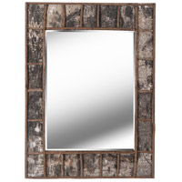 Kenroy Lighting 61002 Birch 38 X 28 inch Natural Birch Bark Wall Mirror Home Decor
