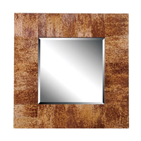 Kenroy Lighting Caribe Wall Mirror in Natural Banana Leaf 61003