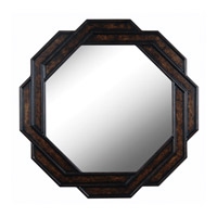Kenroy Lighting 61004 Interchange 34 X 34 inch Bronze Wall Mirror