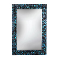 Morgen 42 X 28 inch Multi Colored Mosaic Wall Mirror Home Decor