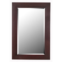 Woodley 42 X 28 inch Espresso Wall Mirror Home Decor