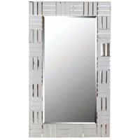Sparkle 44 X 28 inch Chrome Wall Mirror Home Decor