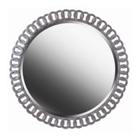 Kenroy Lighting Geo Wall Mirror in Bright Silver 61015