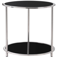 Cocktail 21 inch Stainless Steel Accent Table Home Decor
