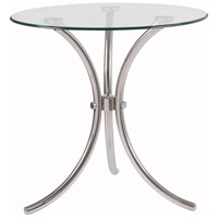 Trio 20 inch Stainless Steel Accent Table Home Decor