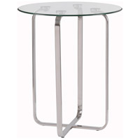 Arpeggio 20 inch Stainless Steel Accent Table Home Decor