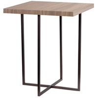 Cronin 20 inch Satin Bronze Accent Table Home Decor