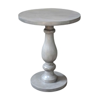 Kenroy Lighting 65032GRW Tango 22 X 18 inch Gray Washed Accent Table