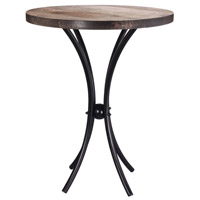 Kenroy Lighting 65041BL Westerly 25 X 20 inch Black Accent Table