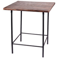 Kenroy Lighting 65046BL Williston 26 X 24 inch Black Accent Table