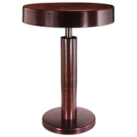 Altair 16 inch Copper Antique Accent Table Home Decor
