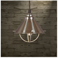 Kenroy Lighting 66342BS Harbour 1 Light 7 inch Brushed Steel Mini Pendant Ceiling Light alternative photo thumbnail
