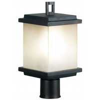 Kenroy Lighting Plateau 1 Light Outdoor Post Lantern in Oil Rubbed Bronze   70214ORB photo thumbnail