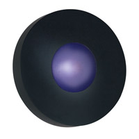 Burst 1 Light Black Sconce Wall Light