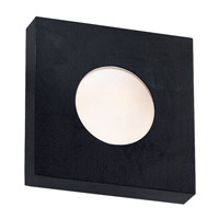 Burst 1 Light 10 inch Black Sconce Wall Light