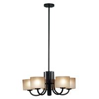 Kenroy Lighting Matrielle 5 Light Chandelier in Oil Rubbed Bronze   80335ORB