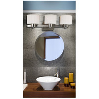 Kenroy Lighting 80413BS Legacy 3 Light 22 inch Brushed Steel Vanity Wall Light alternative photo thumbnail