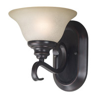 Kenroy Lighting Welles 1 Light Sconce in Oil Rubbed Bronze   80471ORB photo thumbnail